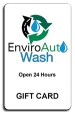 New Enviro Auto Wash Gift Card - $25.00 - Product Image