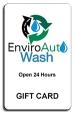 New Enviro Auto Wash Gift Card - $25.00 - Product Image